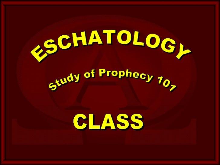 A Study of Biblical Eschatology - nethtc.net