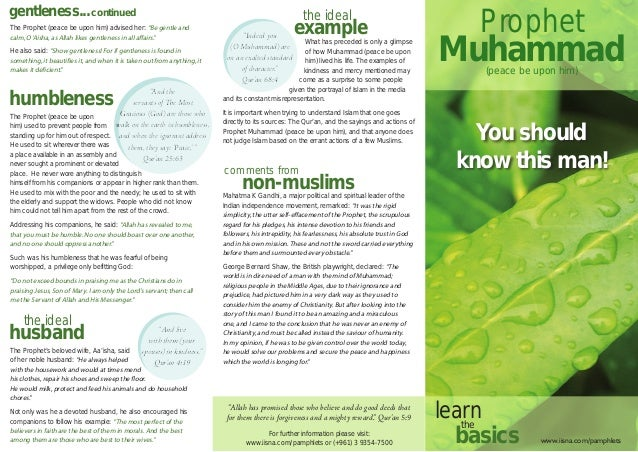 examples of pamphlet