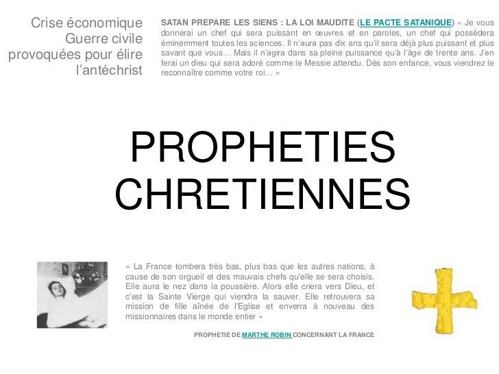 Crise économique         SATAN PREPARE LES SIENS : LA LOI MAUDITE (LE PACTE SATANIQUE) « Je vous                          ...