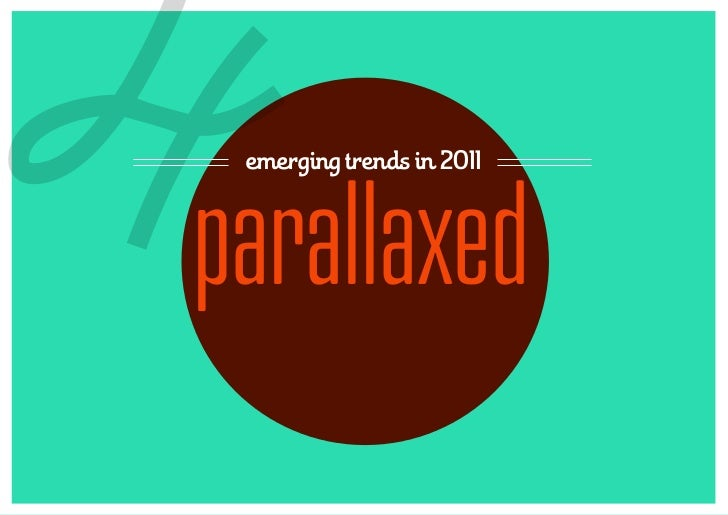 4emerging trends in 2011parallaxed
