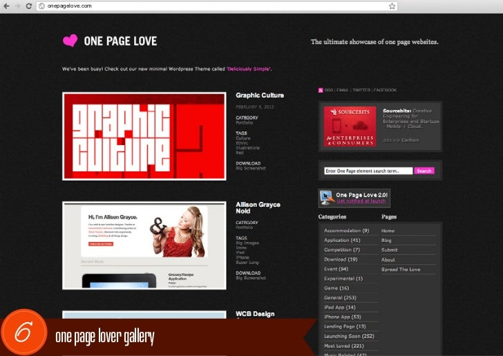 onepagelove.com6     one page lover gallery
