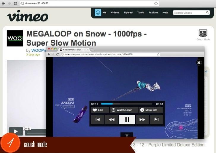 vimeo.com/361406361   couch mode