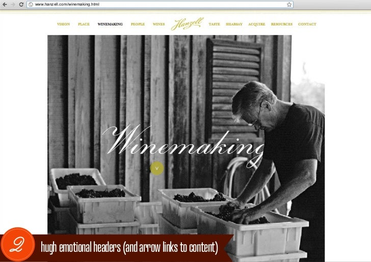 www.hanzell.com/winemaking.html2     hugh emotional headers (and arrow links to content)