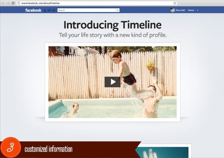 www.facebook.com/about/timeline3     customized information