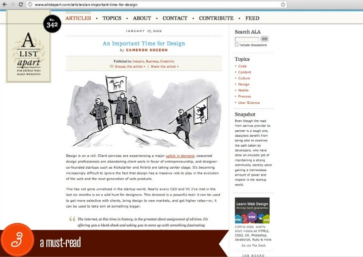 www.alistapart.com/articles/an-important-time-for-design3     a must-read