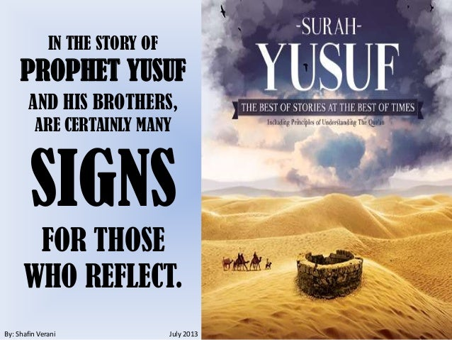 Image result for prophet yusuf