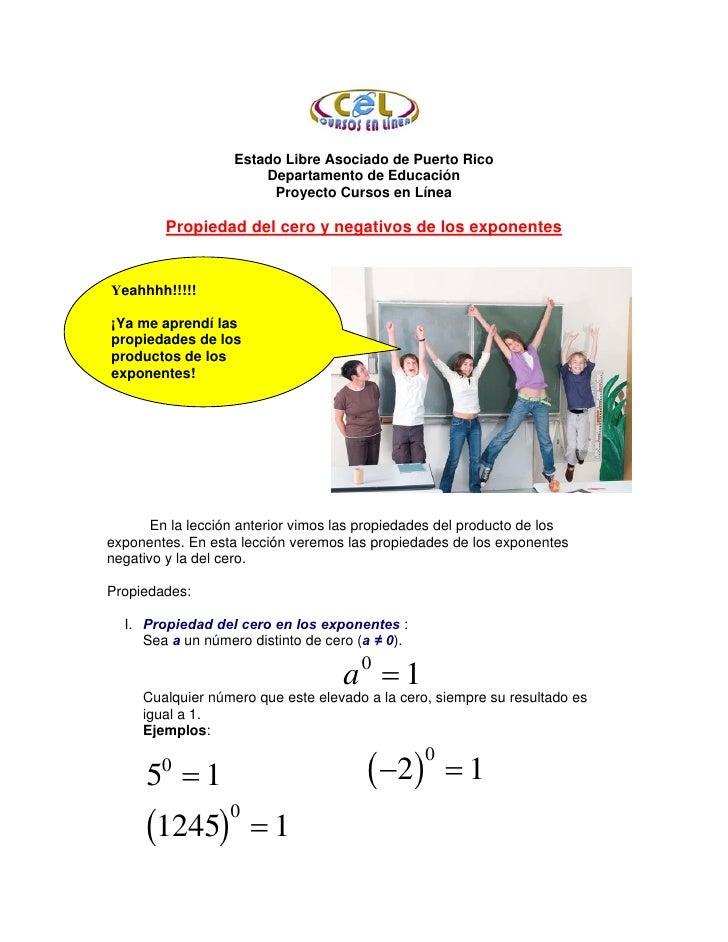 Estado Libre Asociado de Puerto Rico                        Departamento de Educación                         Proyecto Cur...