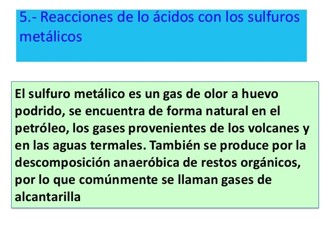 Propiedades de ácidos y bases