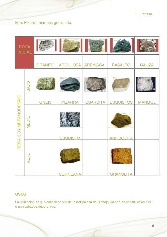 Propiedades de la piedra for Significado de marmol