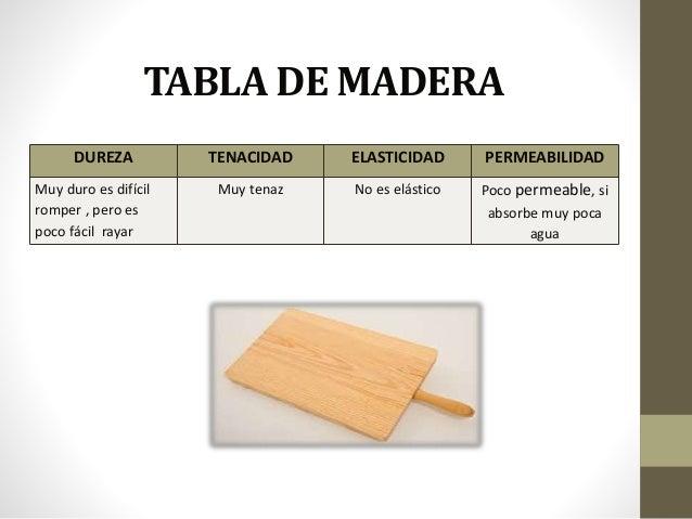 Propiedades de los materiales - Propiedades de la madera ...