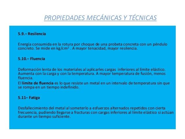 Propiedades de los materiales t cnicas y medida de ensayo de las pro - Inmobiliaria casa 10 ...
