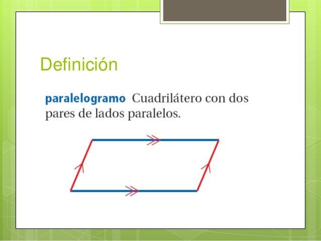 Propiedades de los paralelogramos for Inmobiliaria definicion