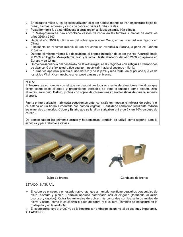 2 - Tabla Periodica Metales No Ferrosos
