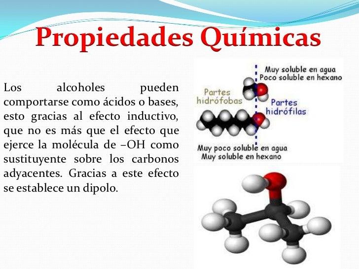 Propiedades fisicas y quimicas del alcohol - Usos del alcohol ...