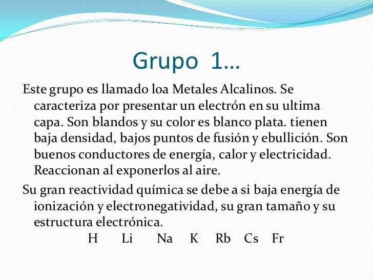 Propiedades fisicas y quimicas de los grupos grupo 7 4 urtaz Image collections