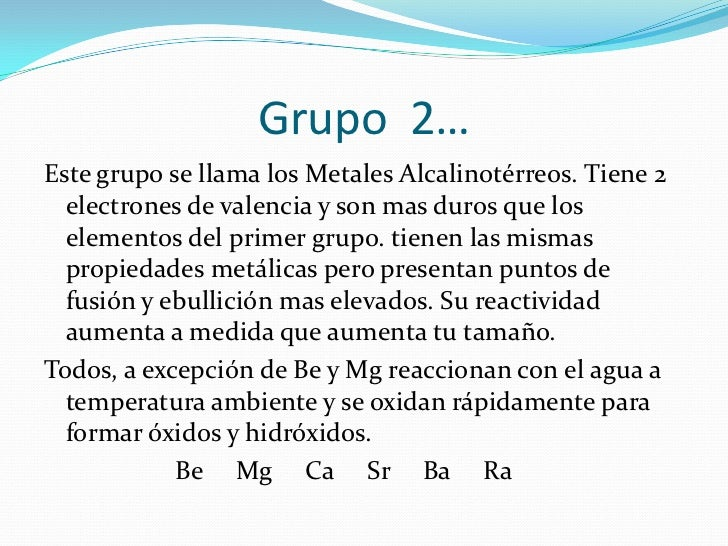 Propiedades fisicas y quimicas de los grupos urtaz Choice Image