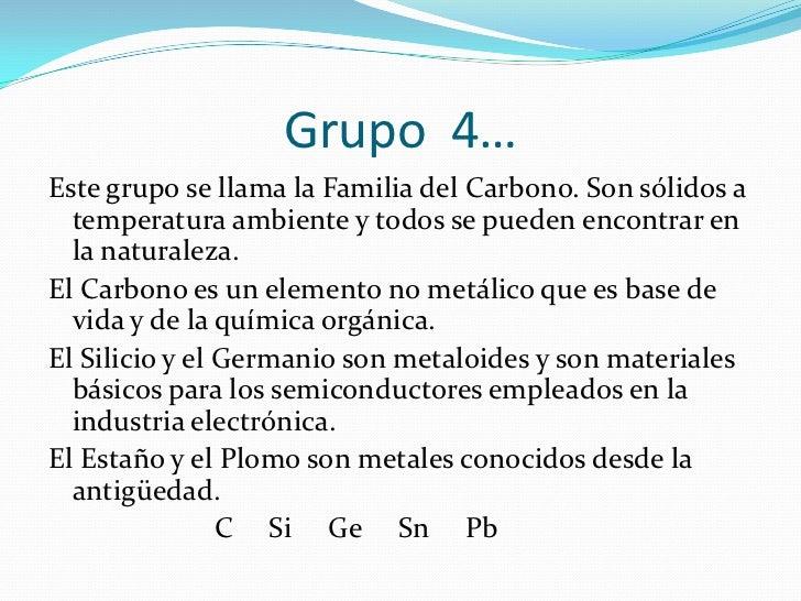 Propiedades fisicas y quimicas de los grupos grupo 3 urtaz Choice Image