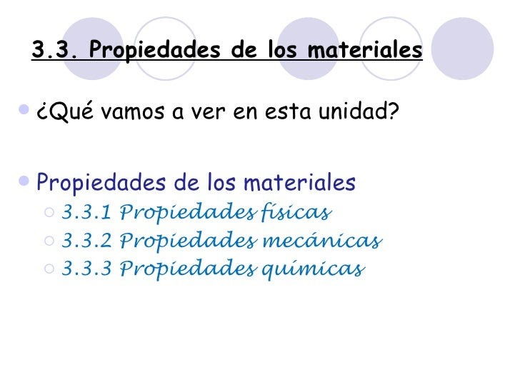 Propiedades materiales  1º ESO