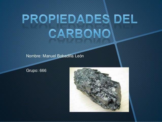 Nombre: Manuel Bobadilla León Grupo: 666