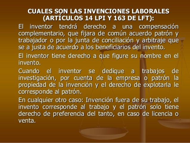 invenciones laborales