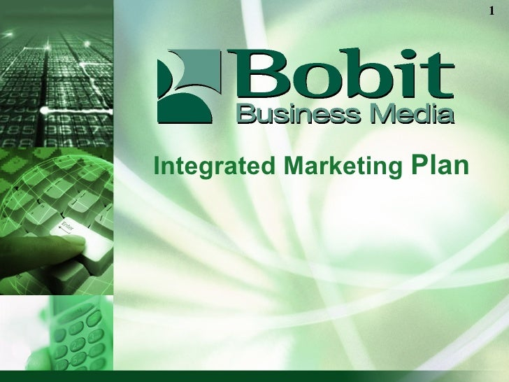 Integrated Marketing  Plan