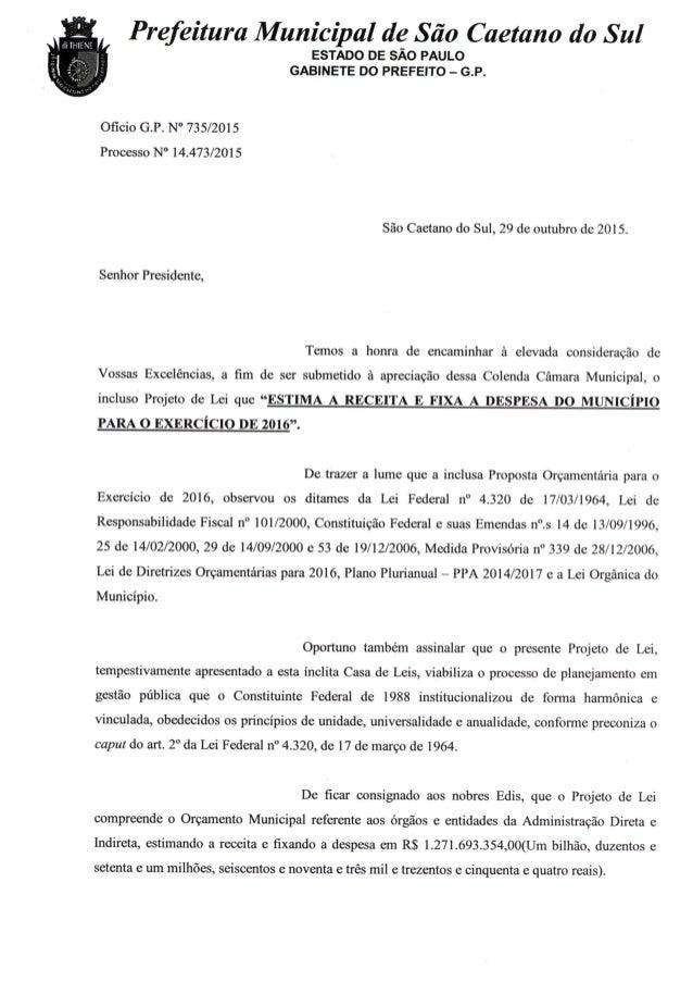 Dem Receita/Despesa - Categoria Econômica - Anexo 1 PREF MUNIC DE SÃO CAETANO DO SUL R E C E I T A D E S P E S A Balanço d...