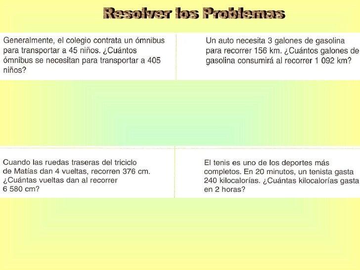 Proporcionalidad 5to