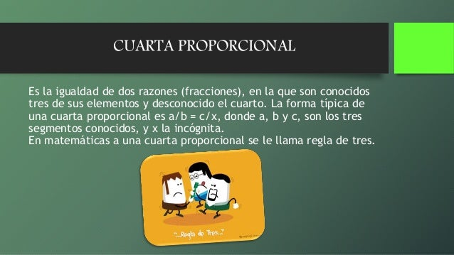 Proporcionalidad y-cuarta-proporcional