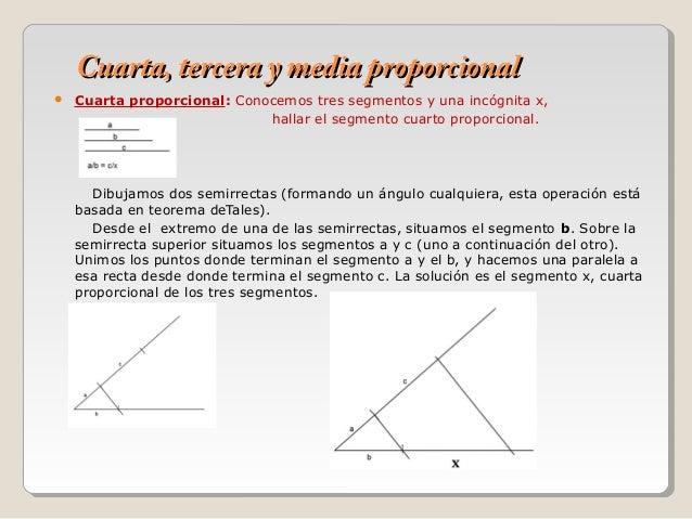 Proporcionalidad y semejanza - 1º BACHILLERATO