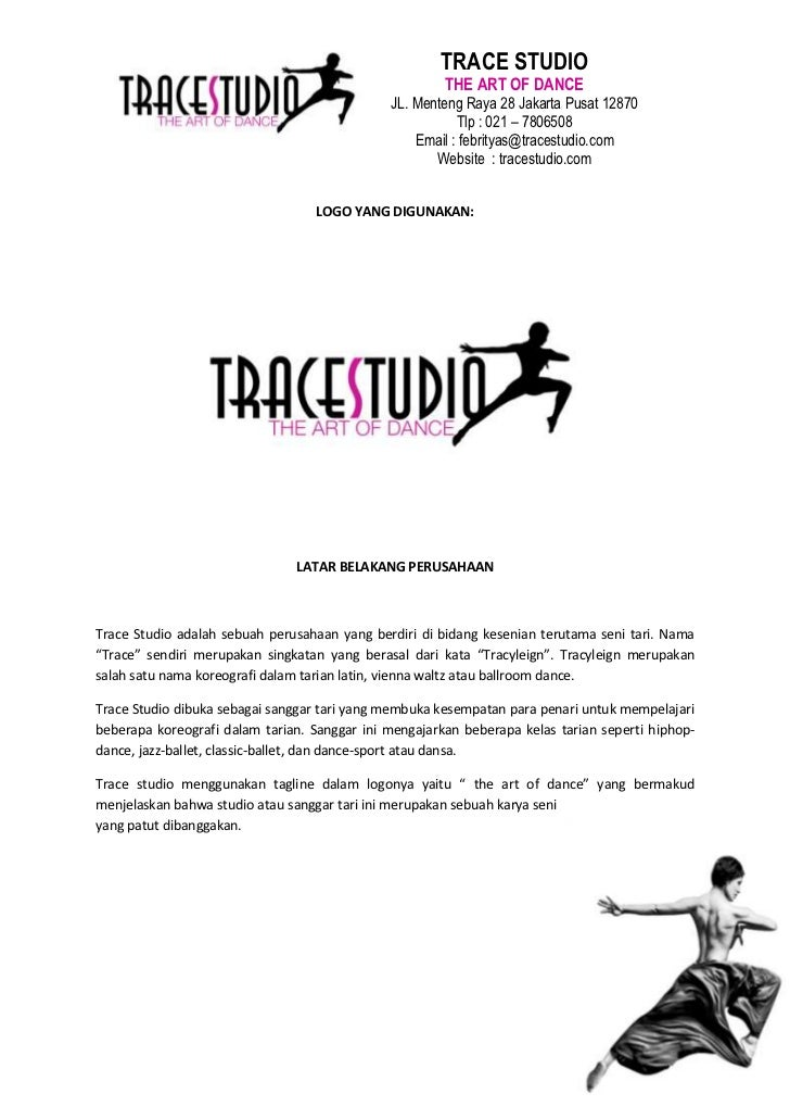 TRACE STUDIO                                                       THE ART OF DANCE                                       ...