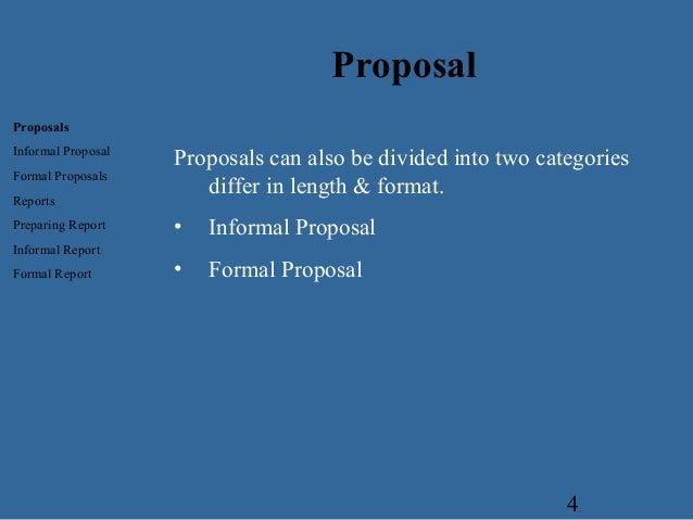 Proposal Business Communcation – Informal Proposal