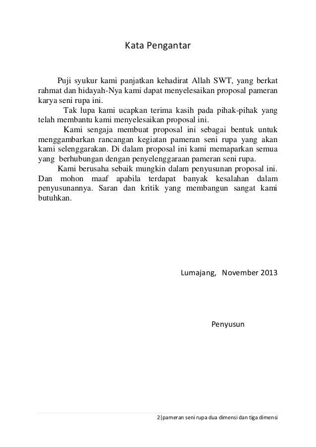 Contoh Kata Pengantar Di Proposal Feed News Indonesia