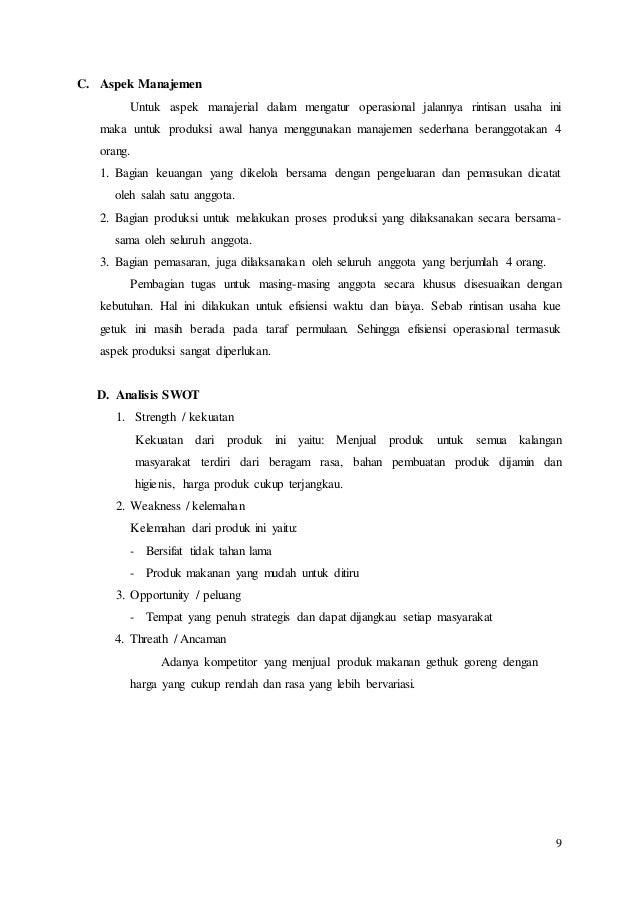 Proposal Kewirausahaan