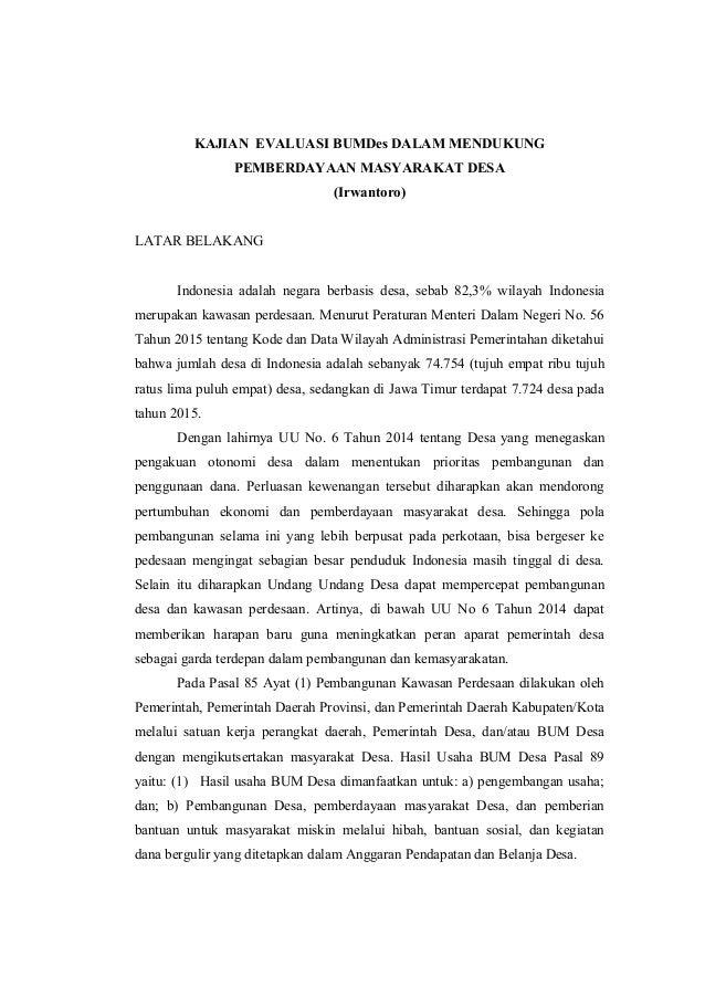 Innonun Blog Archive Contoh Proposal Bantuan Dana Bumdes