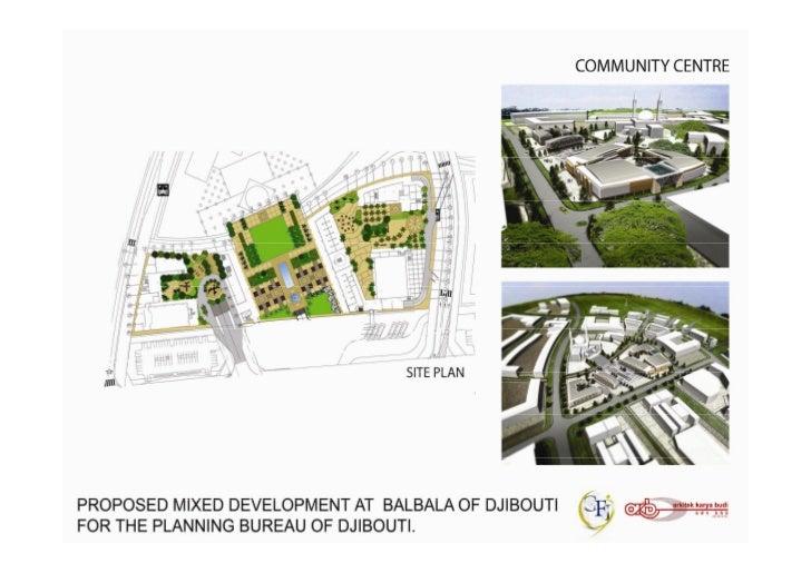 Proposal Community Centre, Mosque, School Fo
