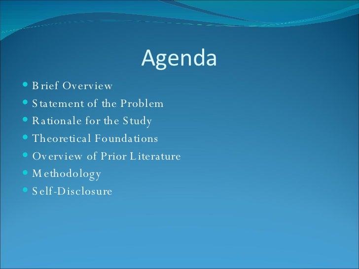 Dissertation presentation ppt