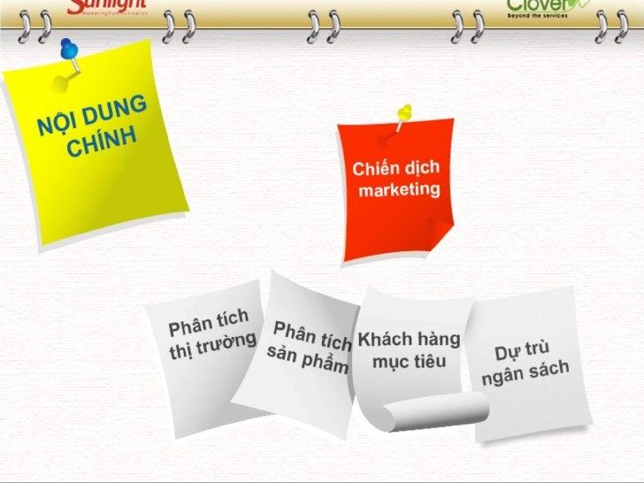 Kế hoạch marketing mẫu