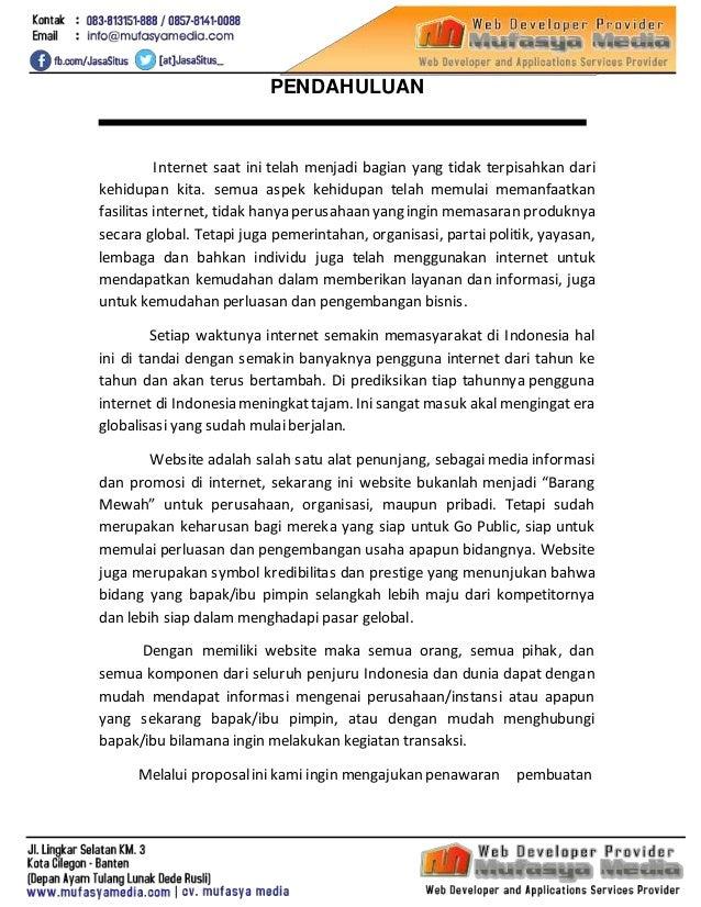 Proposal Jasa Pembuatan Website Instansi Pemerintah - mufasyamedia.com Slide 2