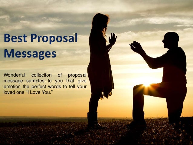 Best Love Proposal Messages. Wonderful collection of proposal message  samples to you that give emotion the perfect words to tell  ...