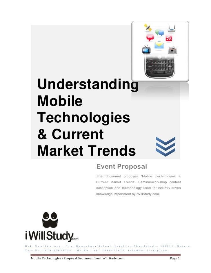 Understanding            Mobile            Technologies            & Current            Market Trends                     ...
