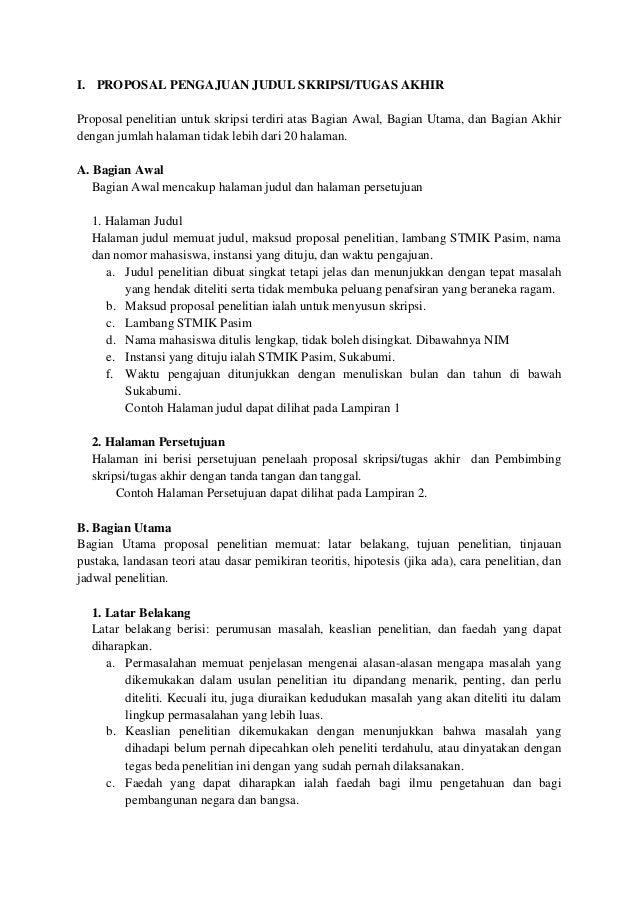 Proposal Pengajuan Judul Skripsi Akuntansi Pigura
