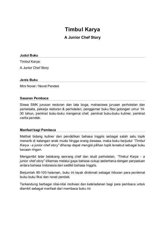 Contoh Proposal Penerbitan Buku