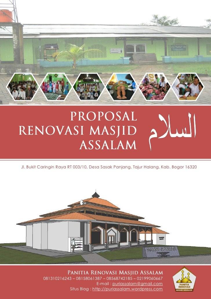 Jl. Bukit Caringin Raya RT 003/10, Desa Sasak Panjang, Tajur Halang, Kab. Bogor 16320          081310216243 – 08158061387 ...