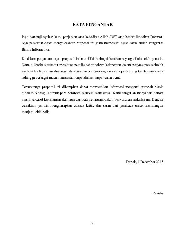 Proposal Aplikasi Lapangan Futsal
