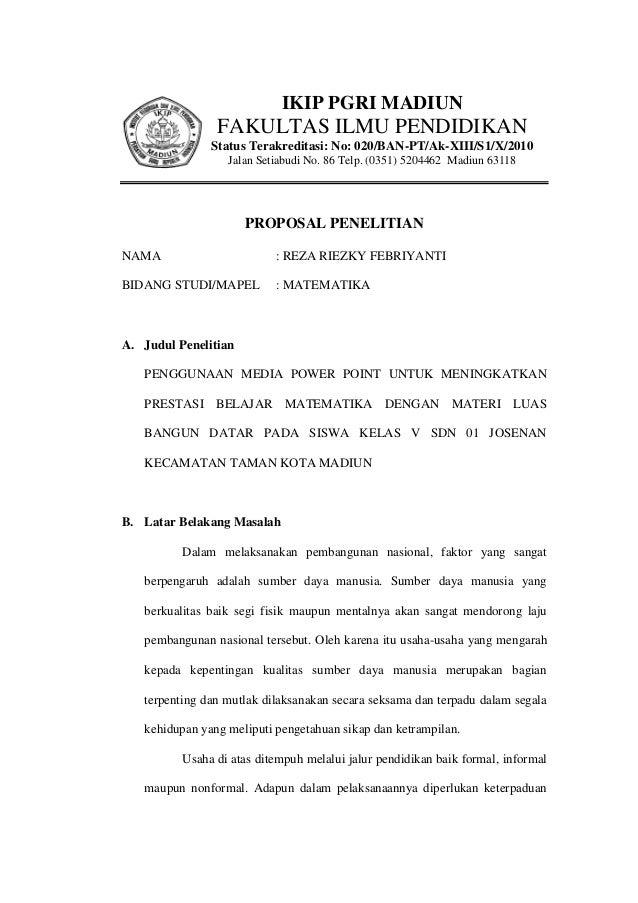 IKIP PGRI MADIUN                FAKULTAS ILMU PENDIDIKAN               Status Terakreditasi: No: 020/BAN-PT/Ak-XIII/S1/X/2...