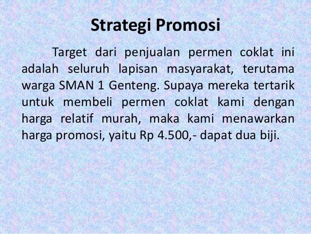 Proposal Bisnis Plan Permen Coklat
