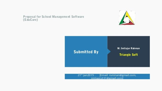 thesis on school management system