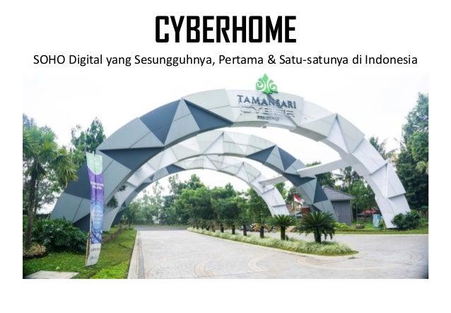 CYBERHOME SOHO Digital yang Sesungguhnya, Pertama & Satu-satunya di Indonesia