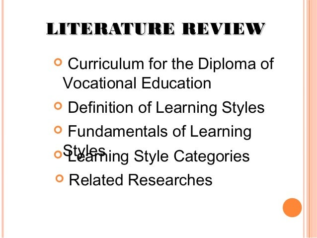 literature review on education Research consortium on education and peacebuilding literature review: the role of teachers in peacebuilding september 2015 authors: lindsey horner, laila kadiwal, yusuf sayed, angeline barrett,  3 research consortium on education and peacbuilding #pbearesearch table of contents.
