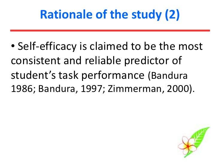 Writing Self-efficacy of Thai EFL Students Slide 3
